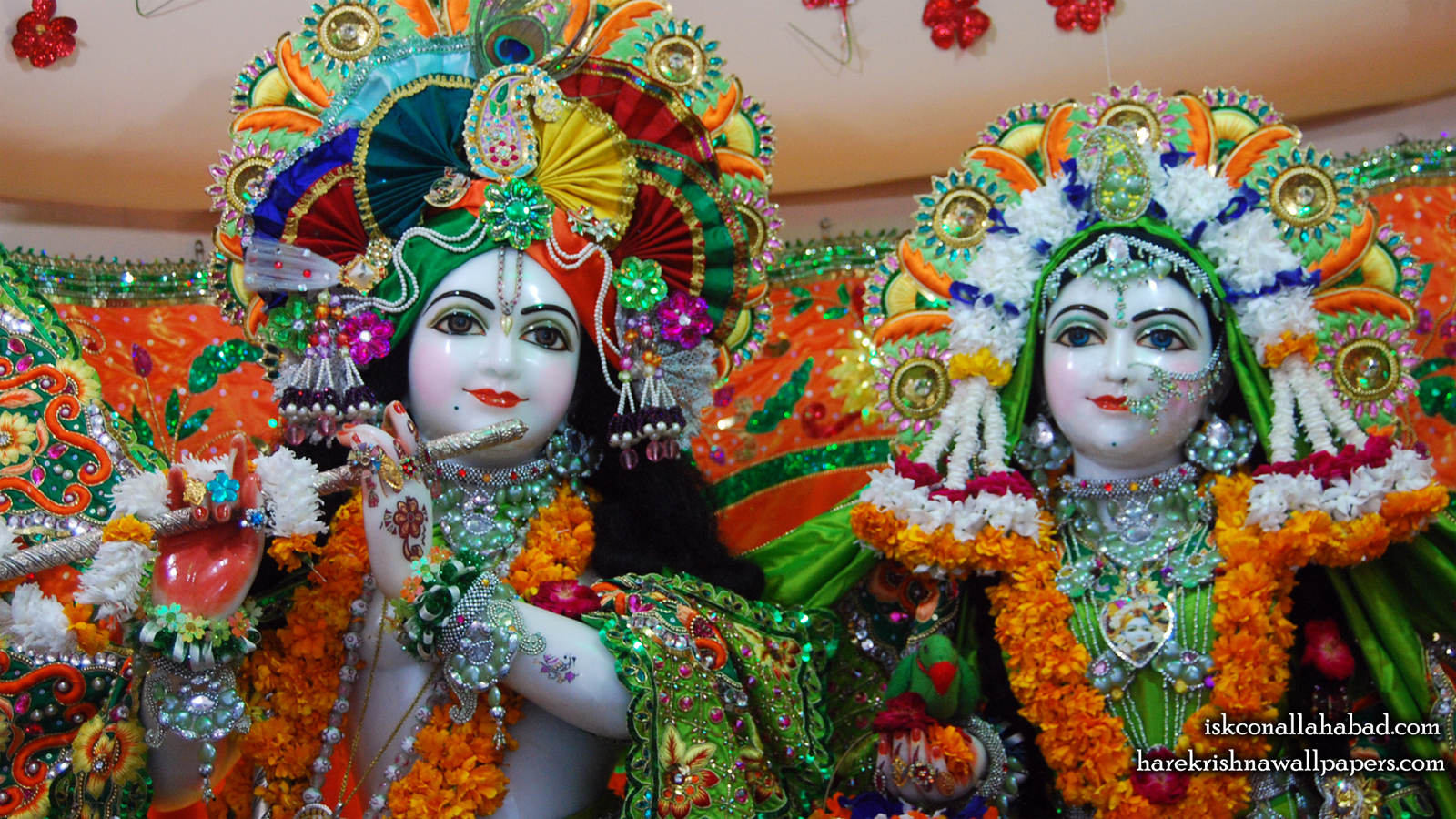 Sri Sri Radha Venimadhava Close up Wallpaper (003) Size 1600x900 Download