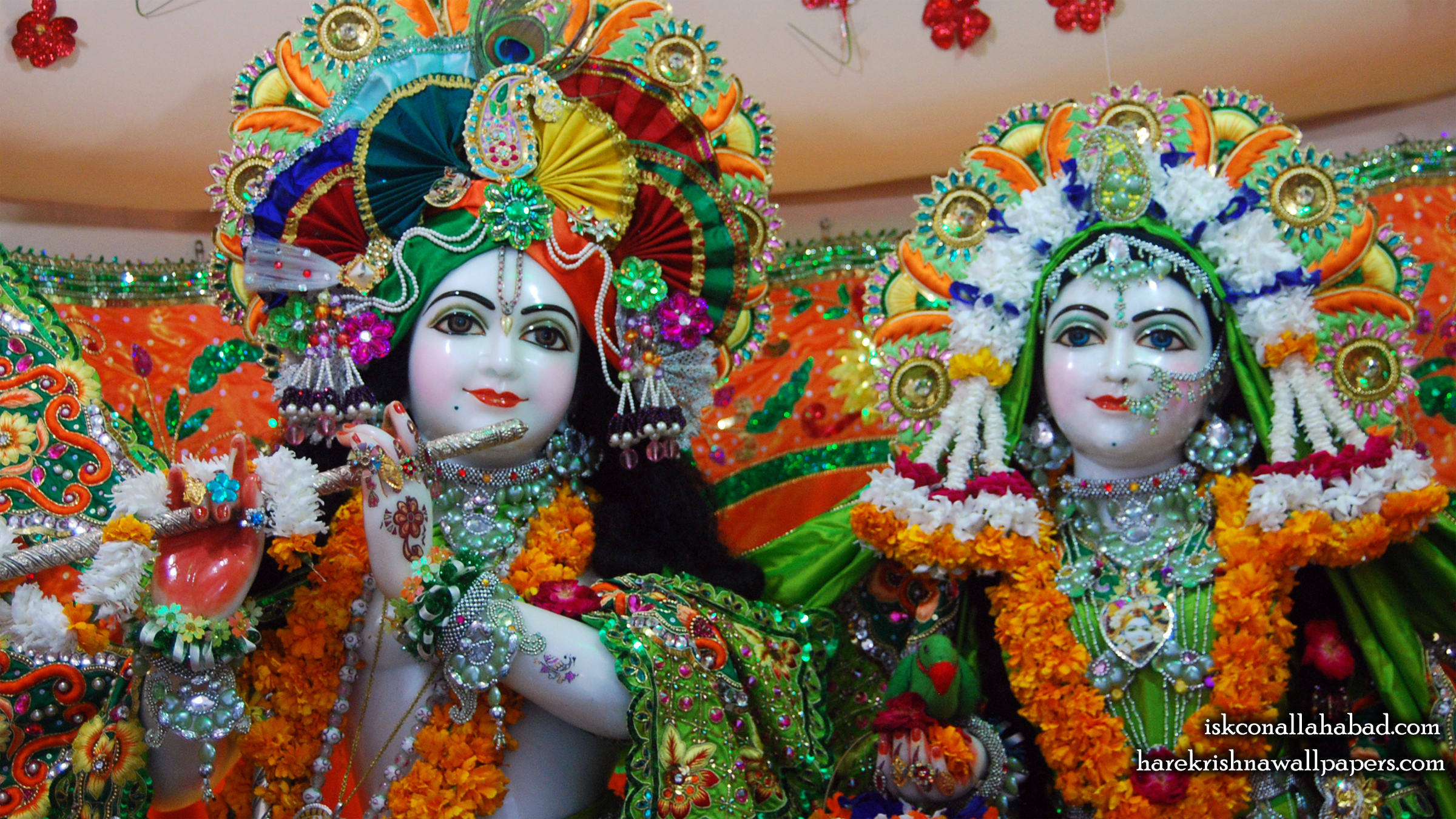 Sri Sri Radha Venimadhava Close up Wallpaper (003) Size 2400x1350 Download