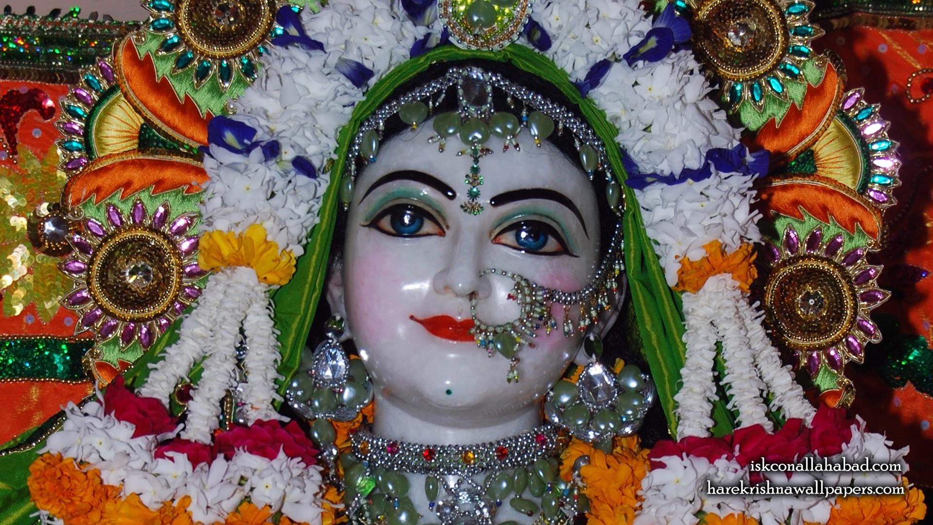 Sri Radha Close up Wallpaper (004) Size 1920x1080 Download