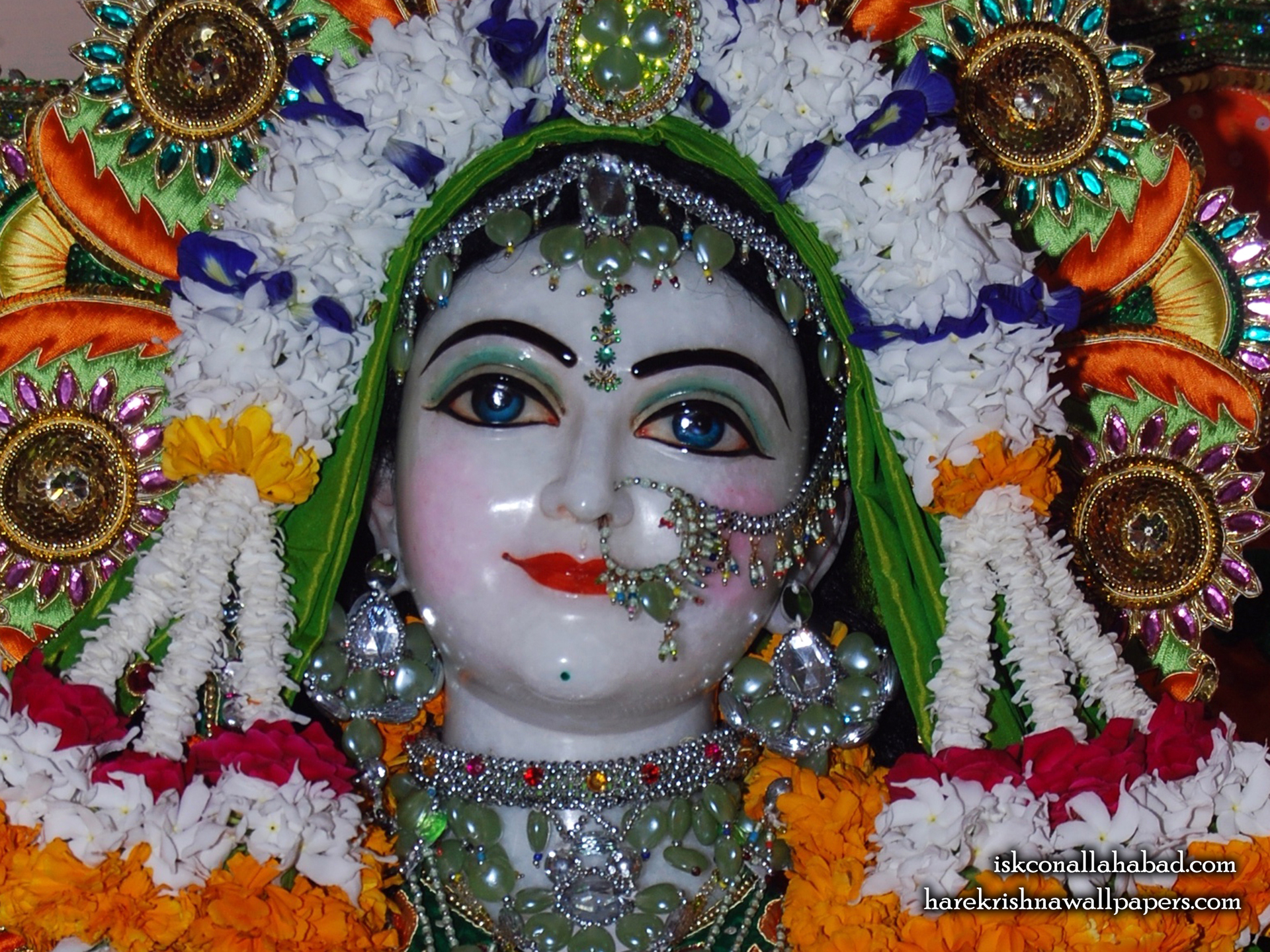 Sri Radha Close up Wallpaper (004) Size 1920x1440 Download