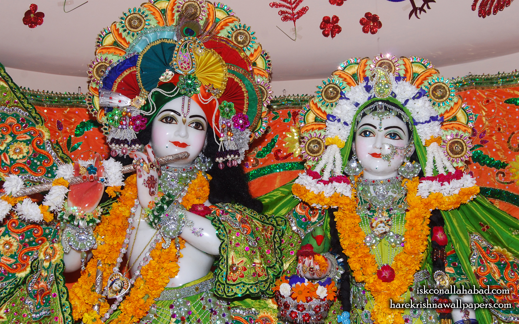 Sri Sri Radha Venimadhava Close up Wallpaper (004) Size 1680x1050 Download