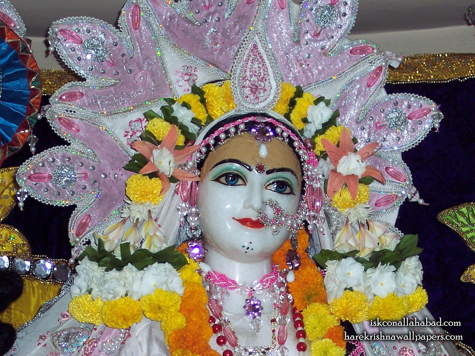 Sri Radha Close up Wallpaper (005) Size1600x1200 Download