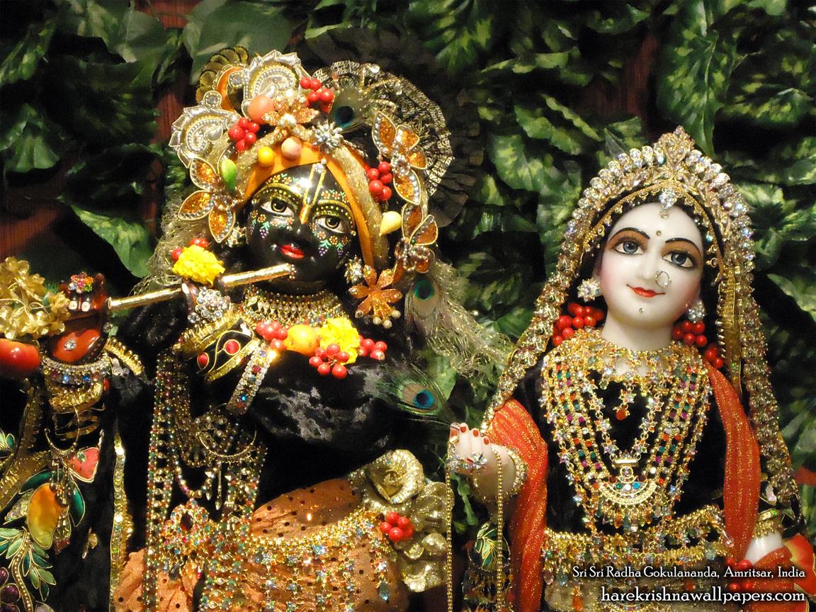 Sri Sri Radha Gokulananda Close up Wallpaper (004) Size 1152x864 Download