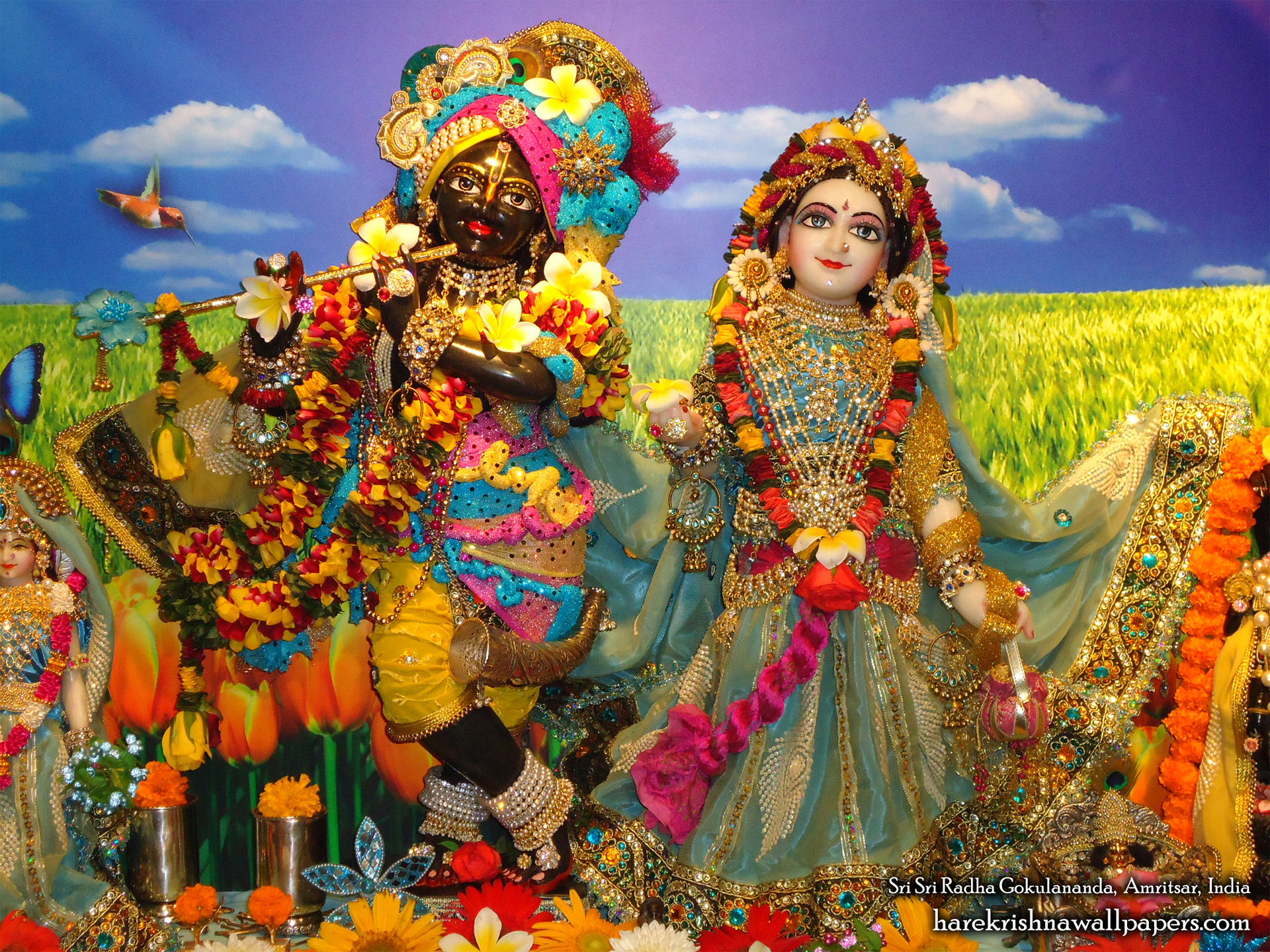 Sri Sri Radha Gokulananda Wallpaper (009) Size 1920x1440 Download