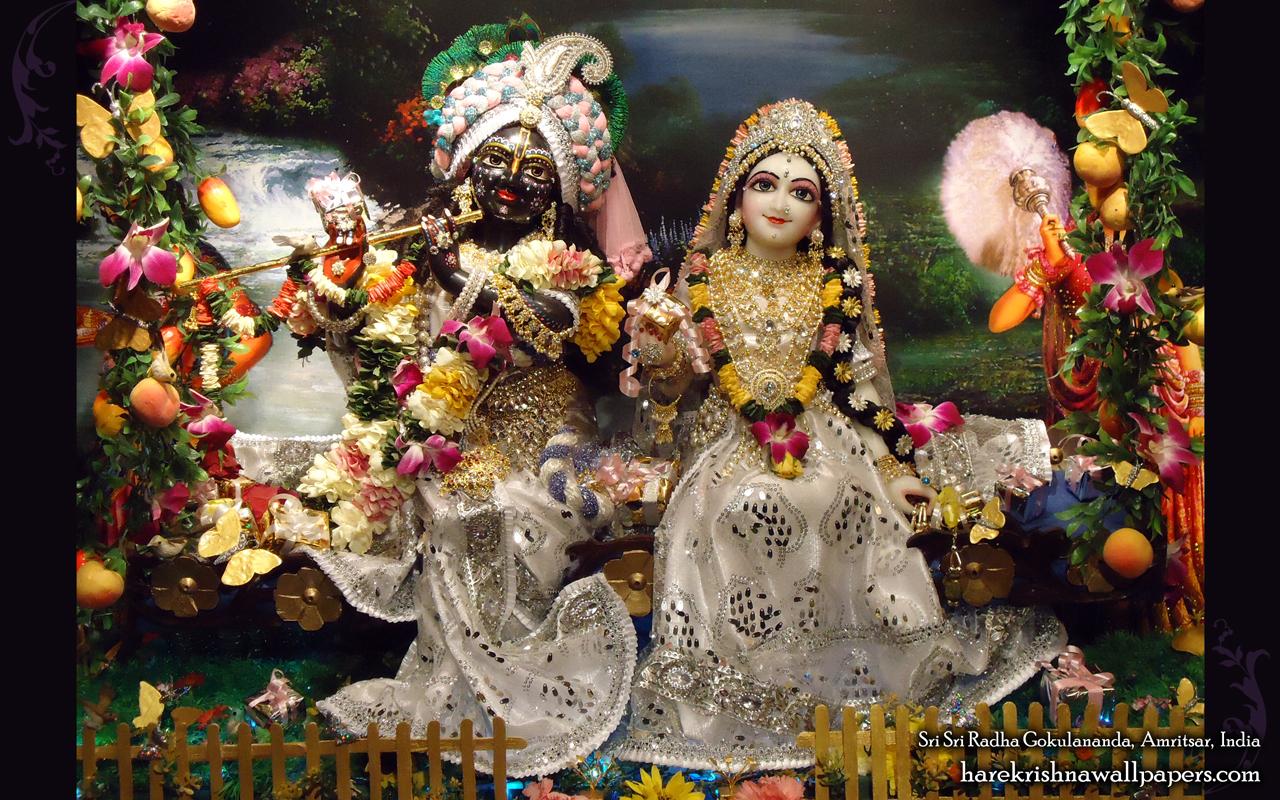 Sri Sri Radha Gokulananda Wallpaper (012) Size 1280x800 Download
