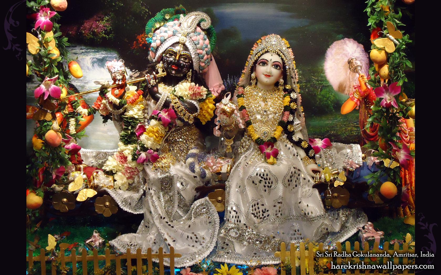 Sri Sri Radha Gokulananda Wallpaper (012) Size 1680x1050 Download