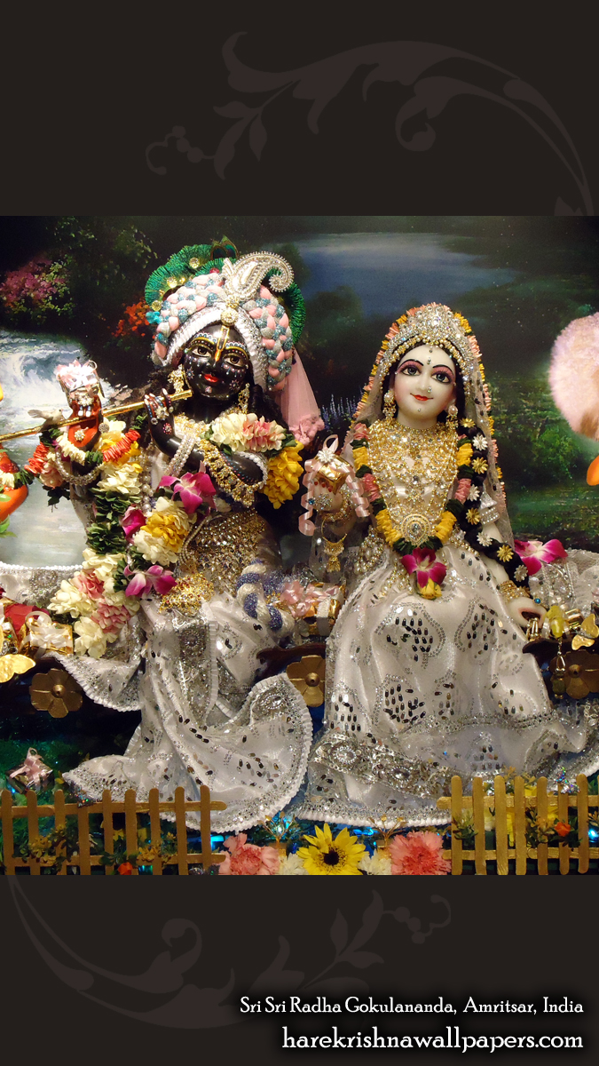 Sri Sri Radha Gokulananda Wallpaper (012) Size 675x1200 Download