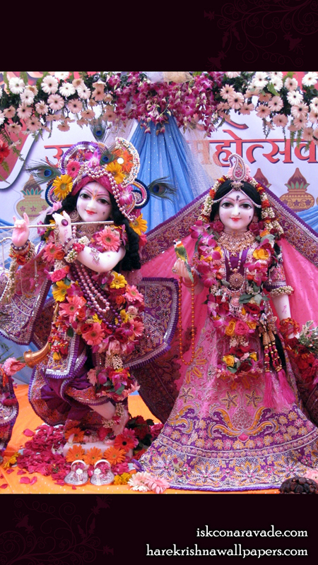 Sri Sri Radha Gopal Wallpaper (001) Size 450x800 Download
