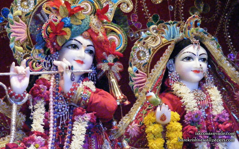 Sri Sri Radha Gopal Close up Wallpaper (002) Size 1440x900 Download