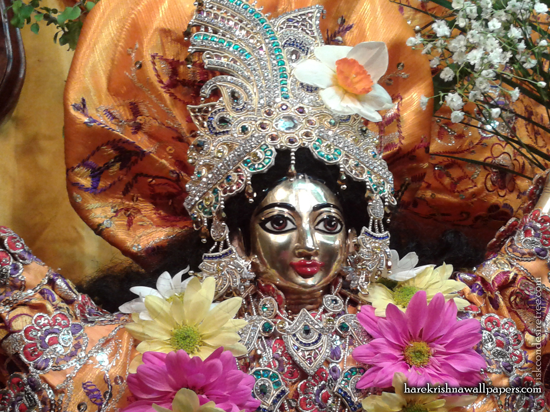 Sri Nitai Close up Wallpaper (001) Size 1920x1440 Download