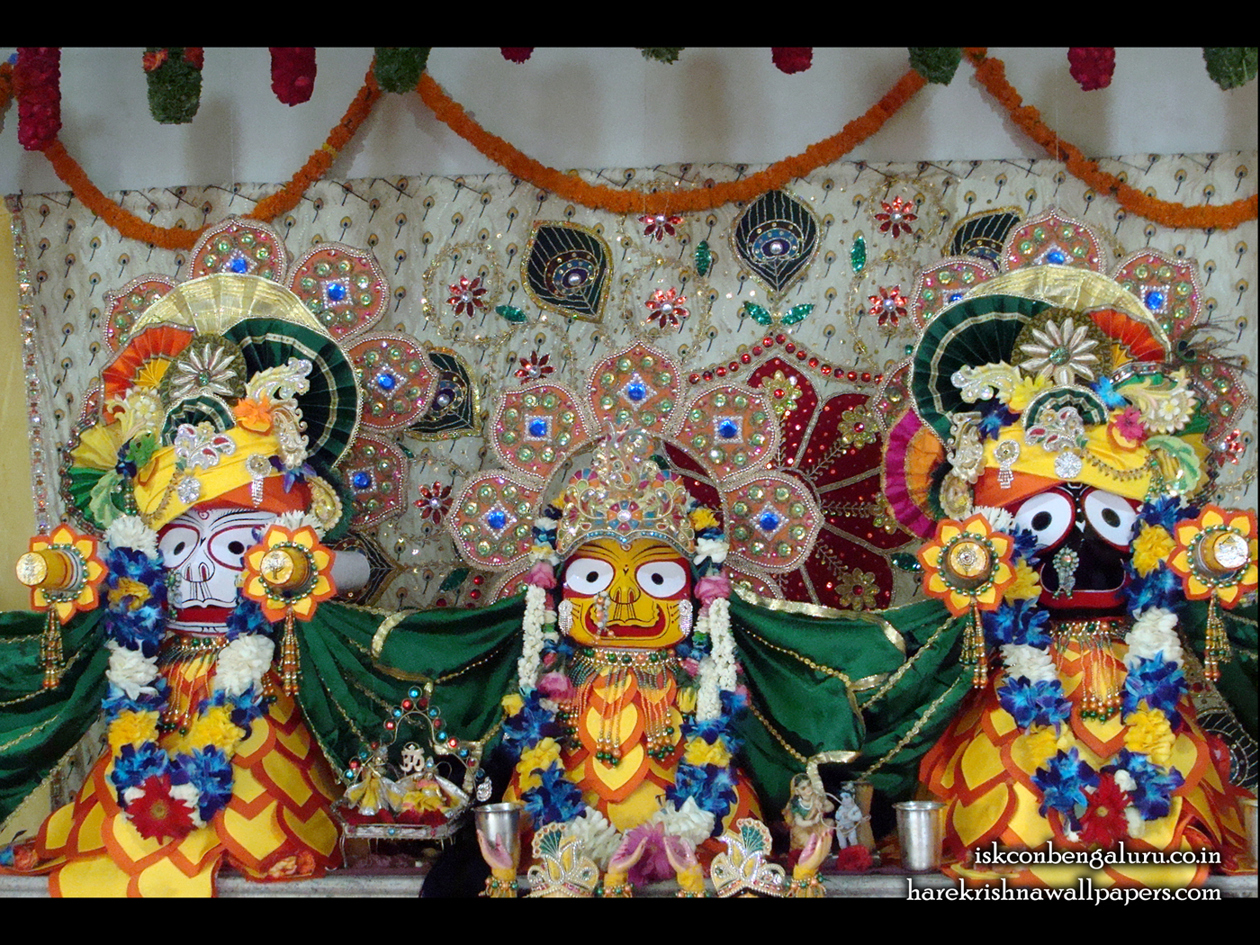 Jagannath Baladeva Subhadra Wallpaper (001) Size 1400x1050 Download