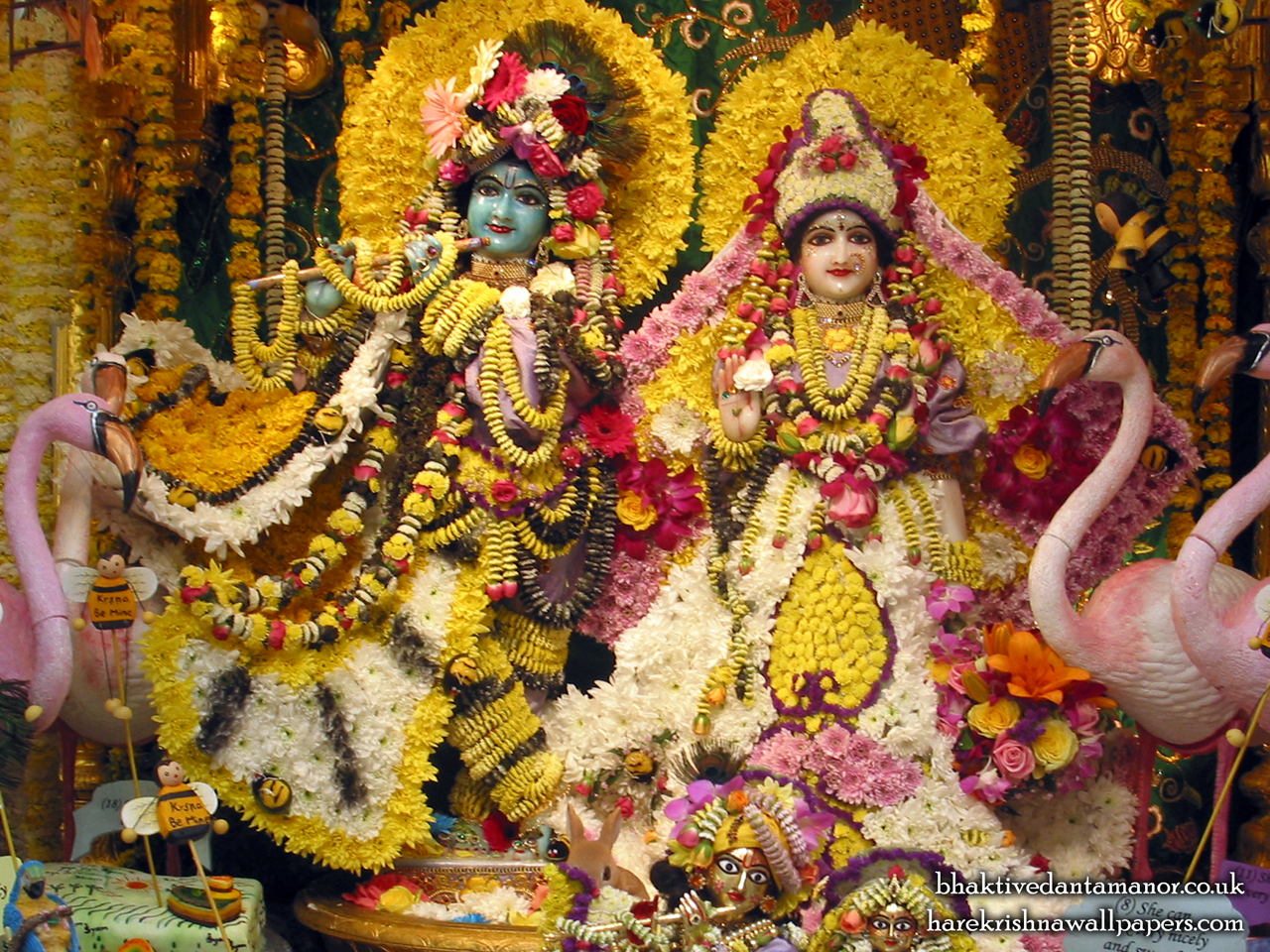 Sri Sri Radha Gokulananda Wallpaper (001) Size 1280x960 Download