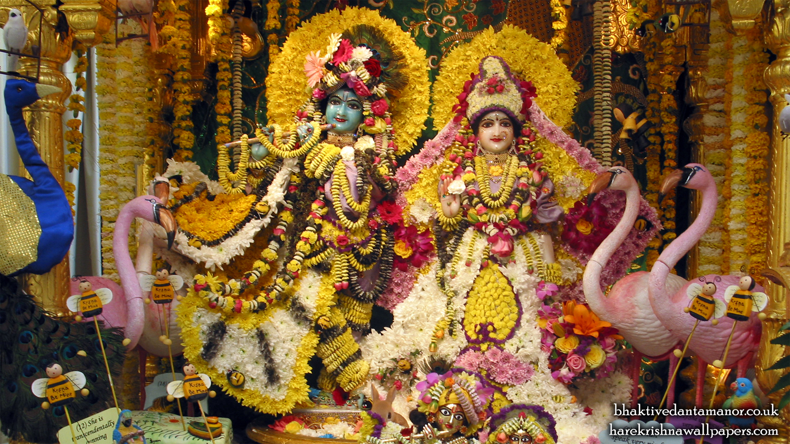 Sri Sri Radha Gokulananda Wallpaper (001) Size 1600x900 Download