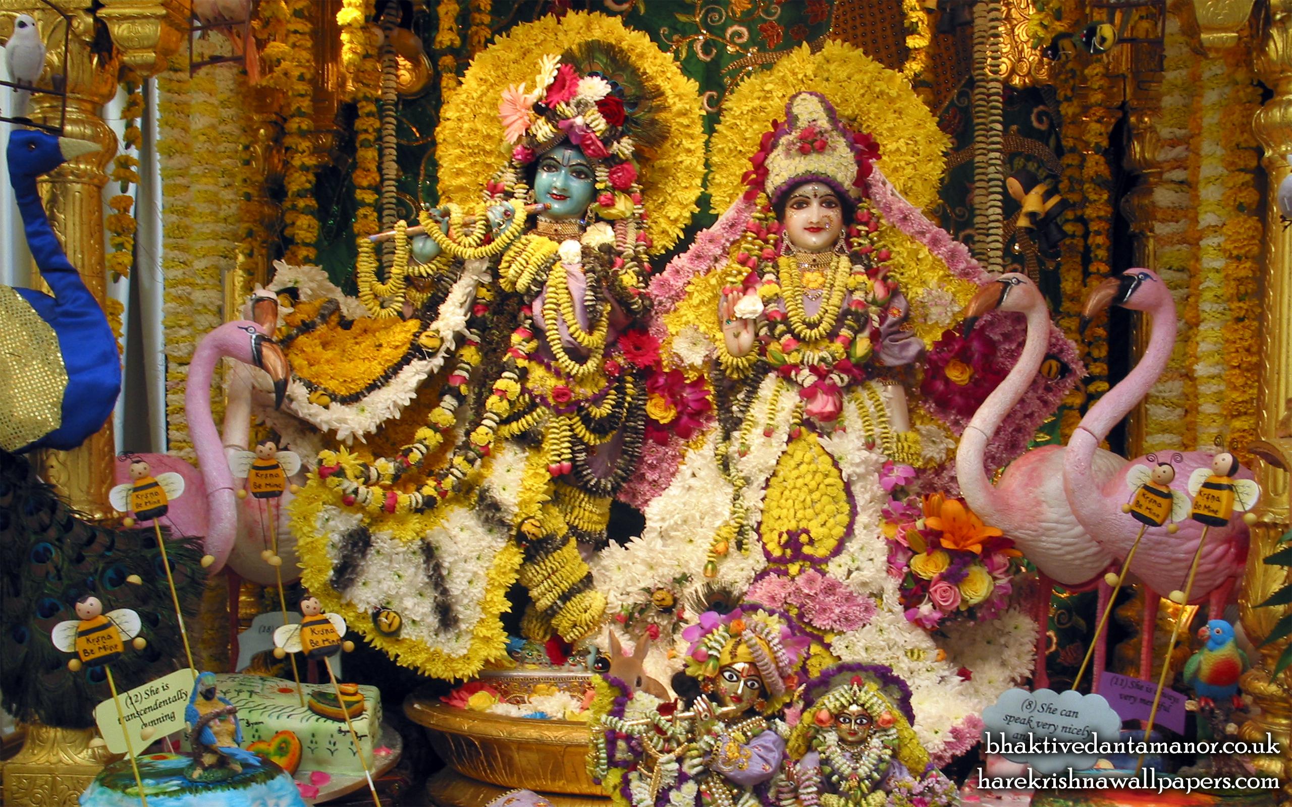 Sri Sri Radha Gokulananda Wallpaper (001) Size 2560x1600 Download