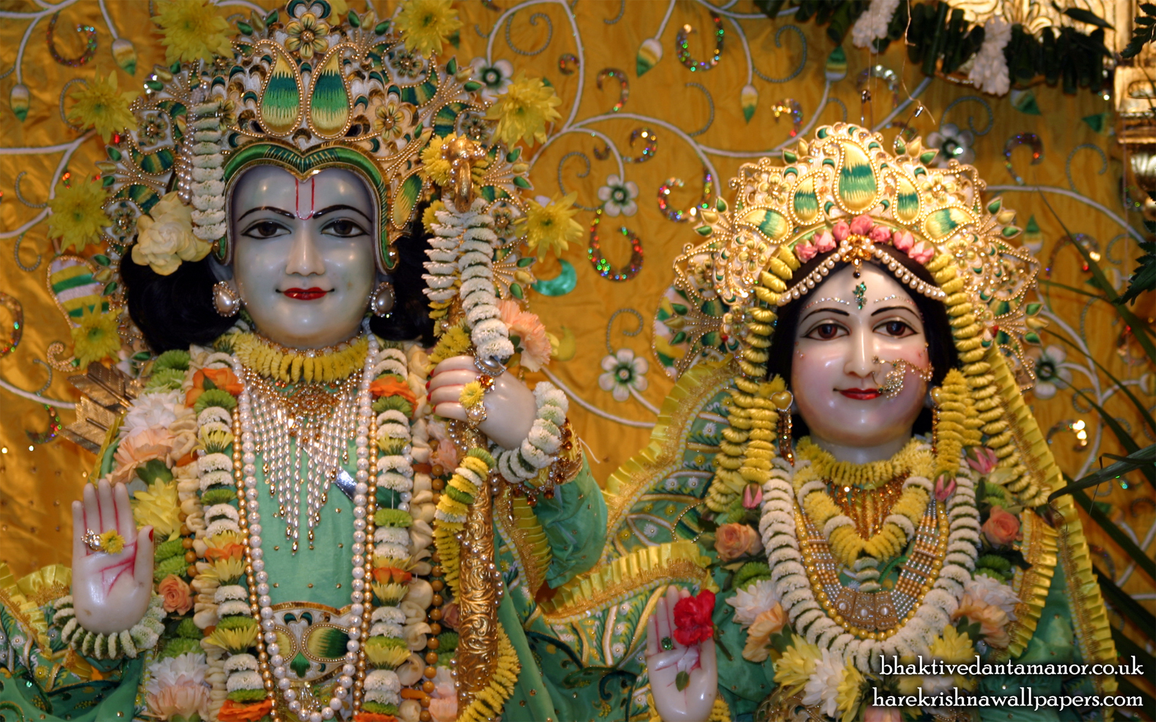 Sri Sri Sita Rama Close up Wallpaper (002) Size 1680x1050 Download