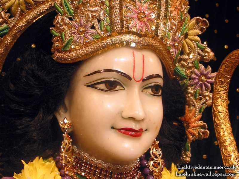 Sri Rama Close up Wallpaper (003)