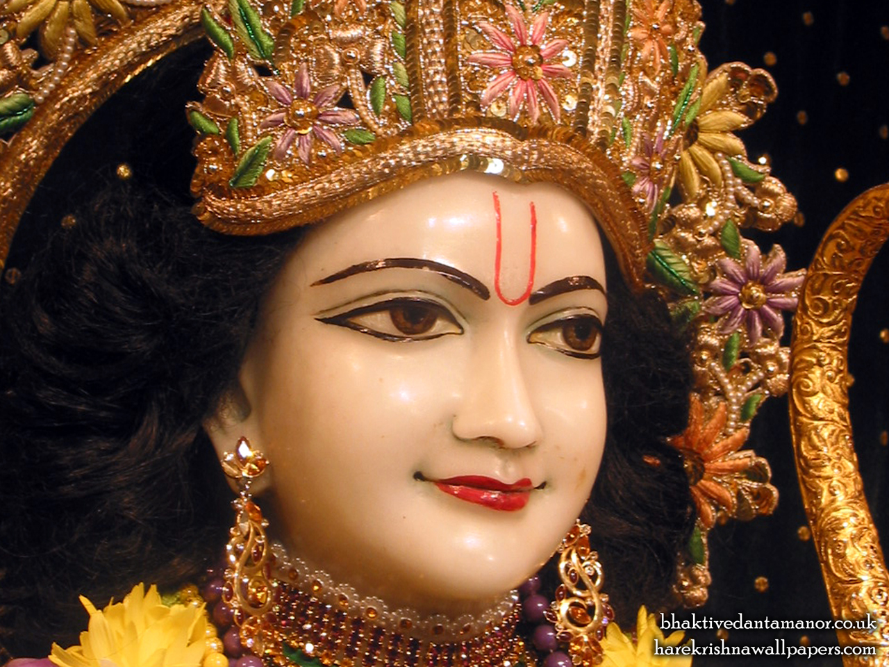 Sri Rama Close up Wallpaper (003) Size 1280x960 Download
