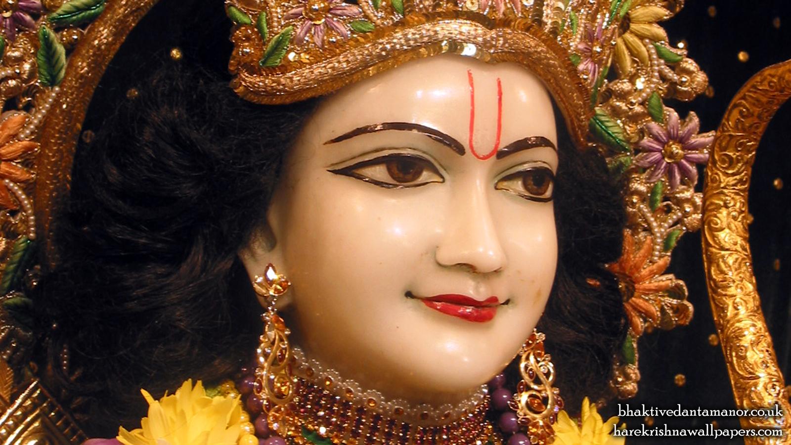 Sri Rama Close up Wallpaper (003) Size 1600x900 Download