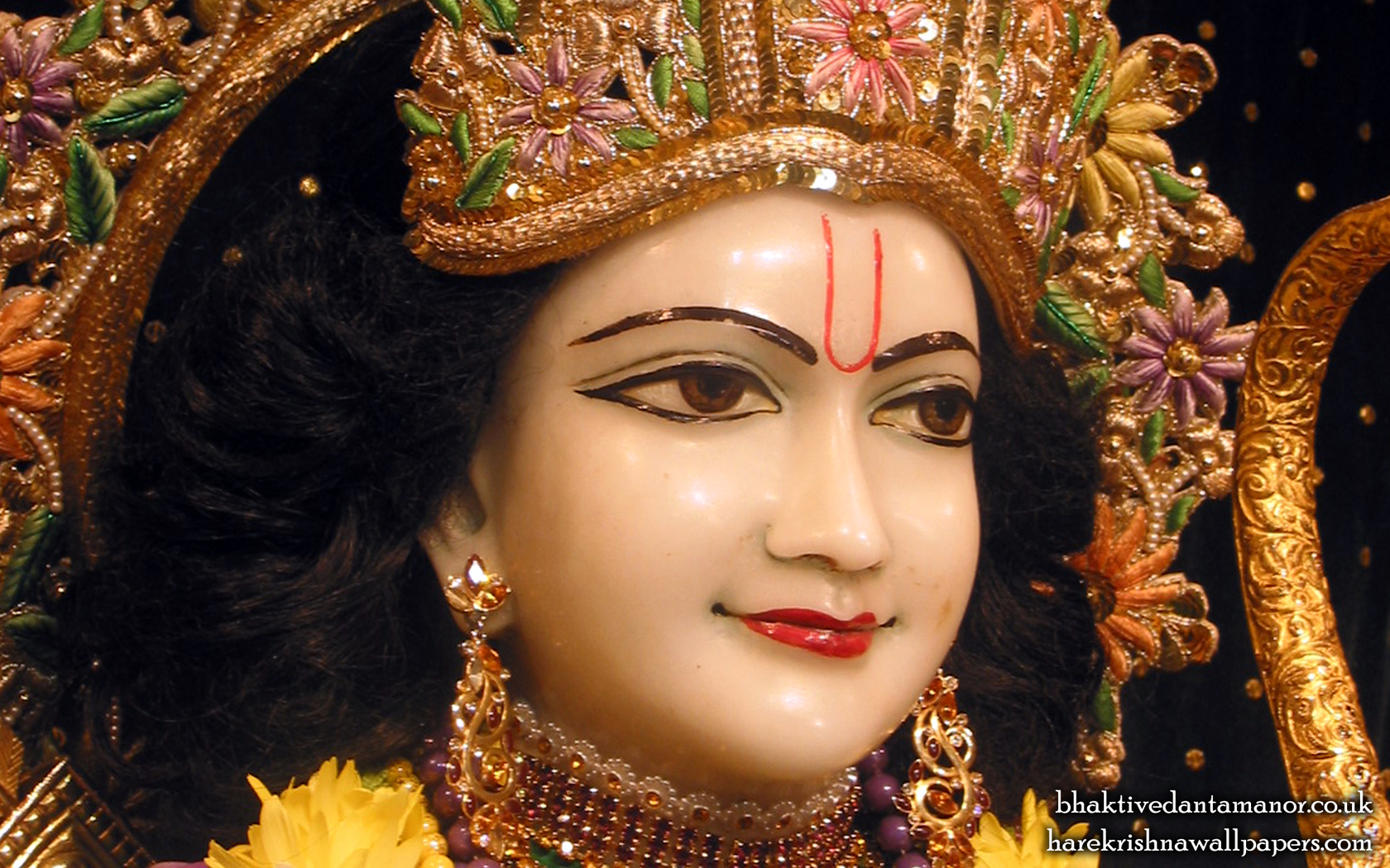 Sri Rama Close up Wallpaper (003) Size 1680x1050 Download