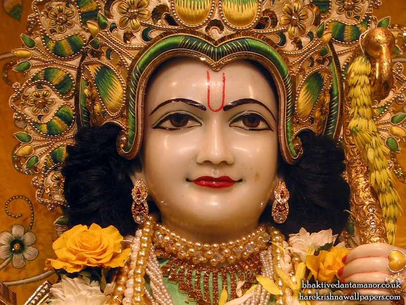 Sri Rama Close up Wallpaper (005)