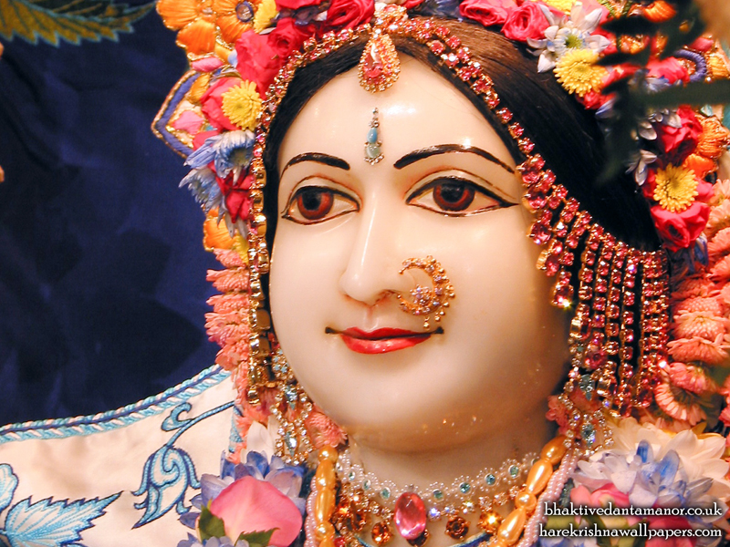 Sri Sita Close up Wallpaper (006)