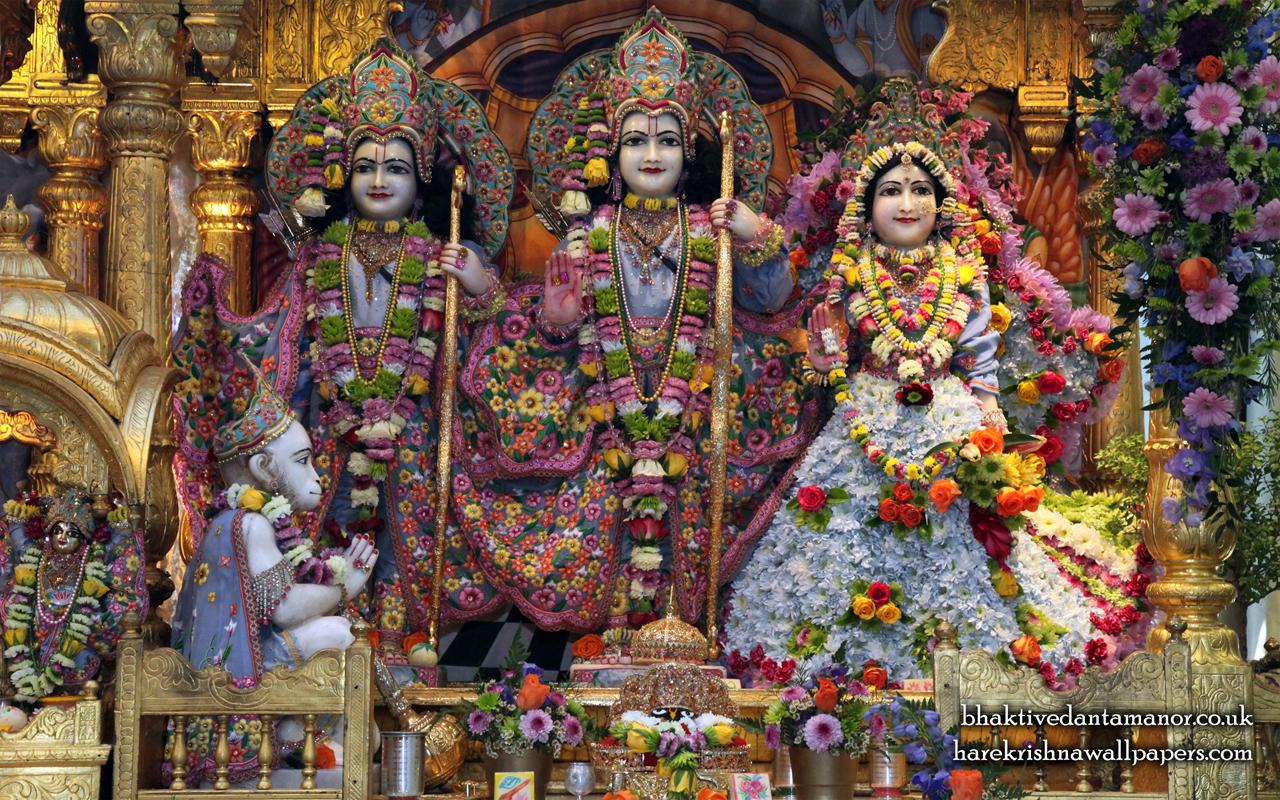 Sri Sri Sita Rama Laxman Hanuman Wallpaper (007) Size 1280x800 Download