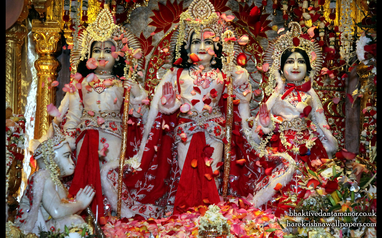 Sri Sri Sita Rama Laxman Hanuman Wallpaper (009) Size 1440x900 Download