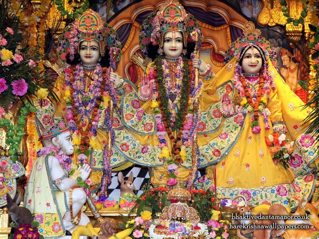 Sri Sri Sita Rama Laxman Hanuman Wallpaper (011) Size 1024x768 Download