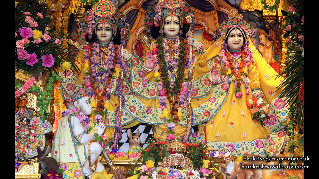 Sri Sri Sita Rama Laxman Hanuman Wallpaper (011) Size 1280x720 Download