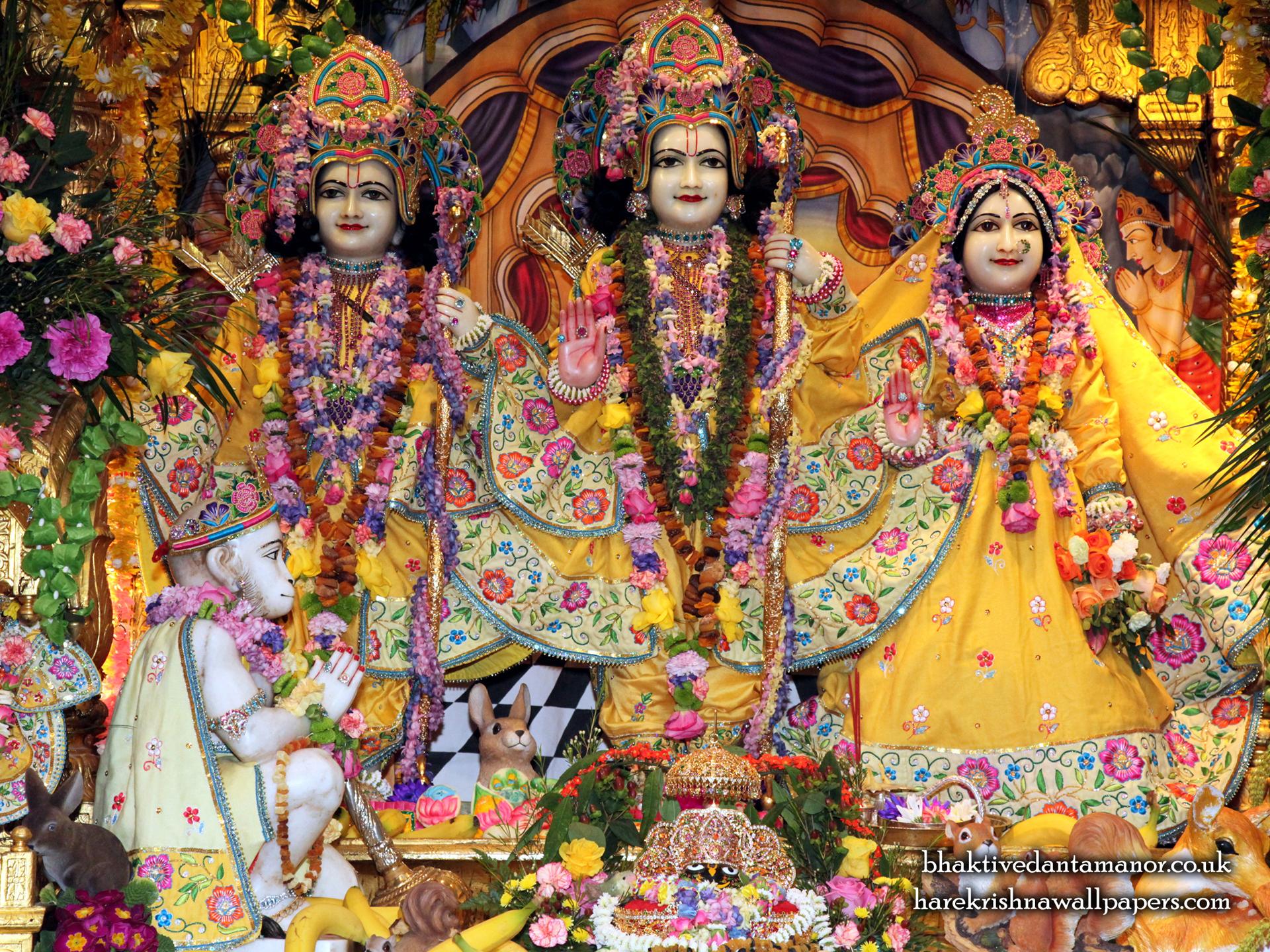 Sri Sri Sita Rama Laxman Hanuman Wallpaper (011) Size 1920x1440 Download