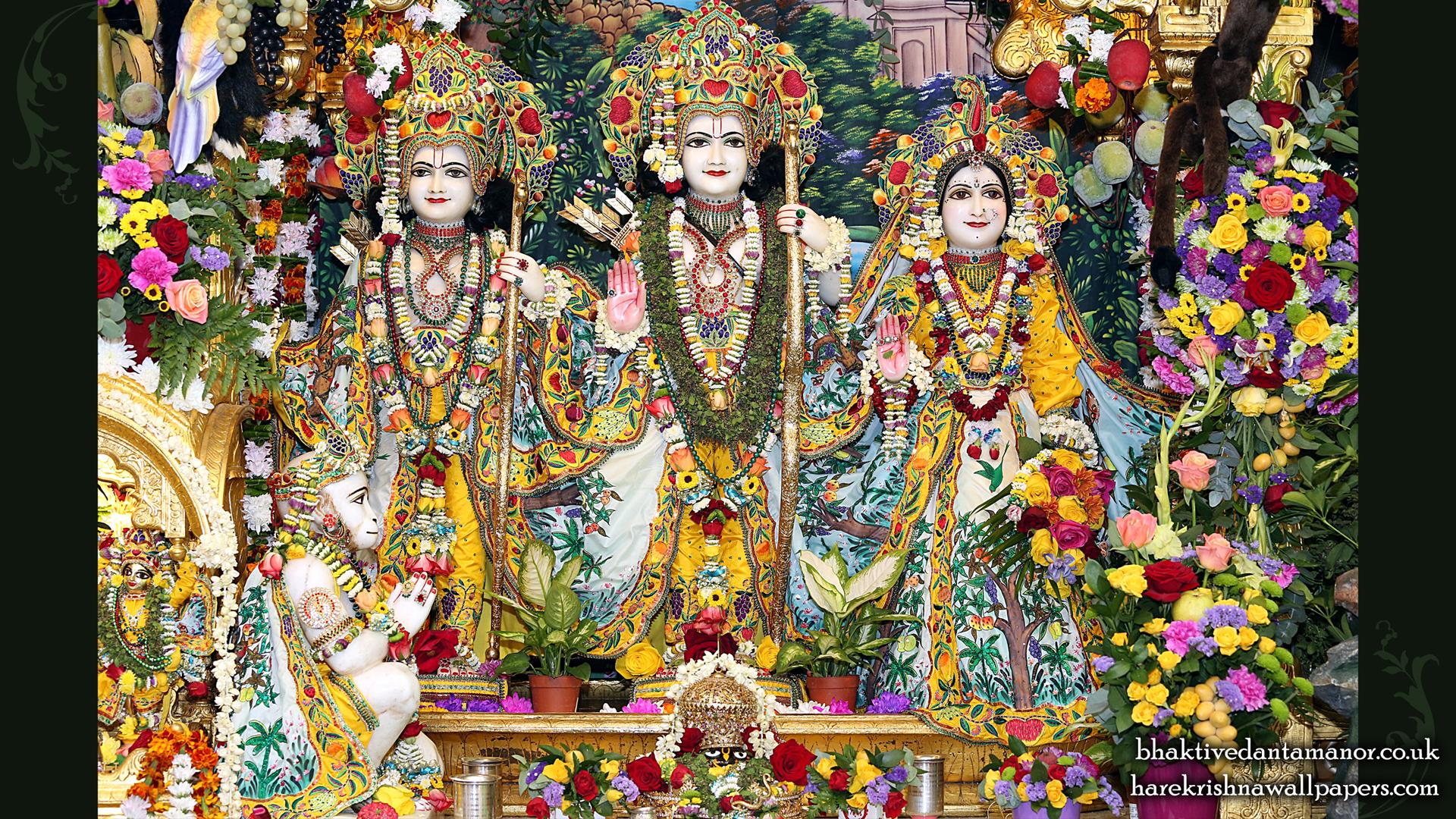 Sri Sri Sita Rama Laxman Hanuman Wallpaper (012) Size 1920x1080 Download