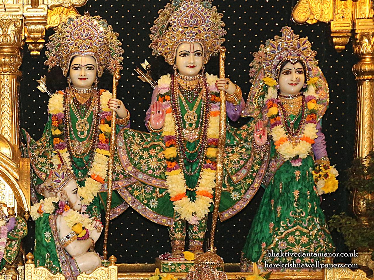 Sri Sri Sita Rama Laxman Hanuman Wallpaper (013) Size 1280x960 Download