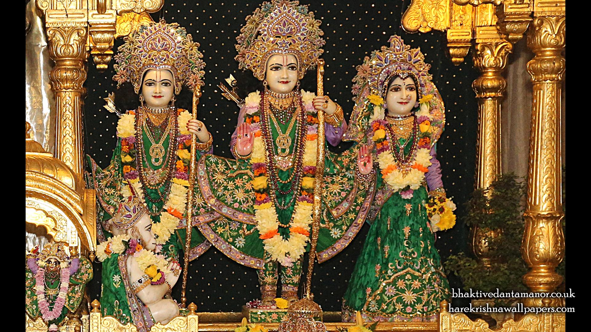 Sri Sri Sita Rama Laxman Hanuman Wallpaper (013) Size 1920x1080 Download
