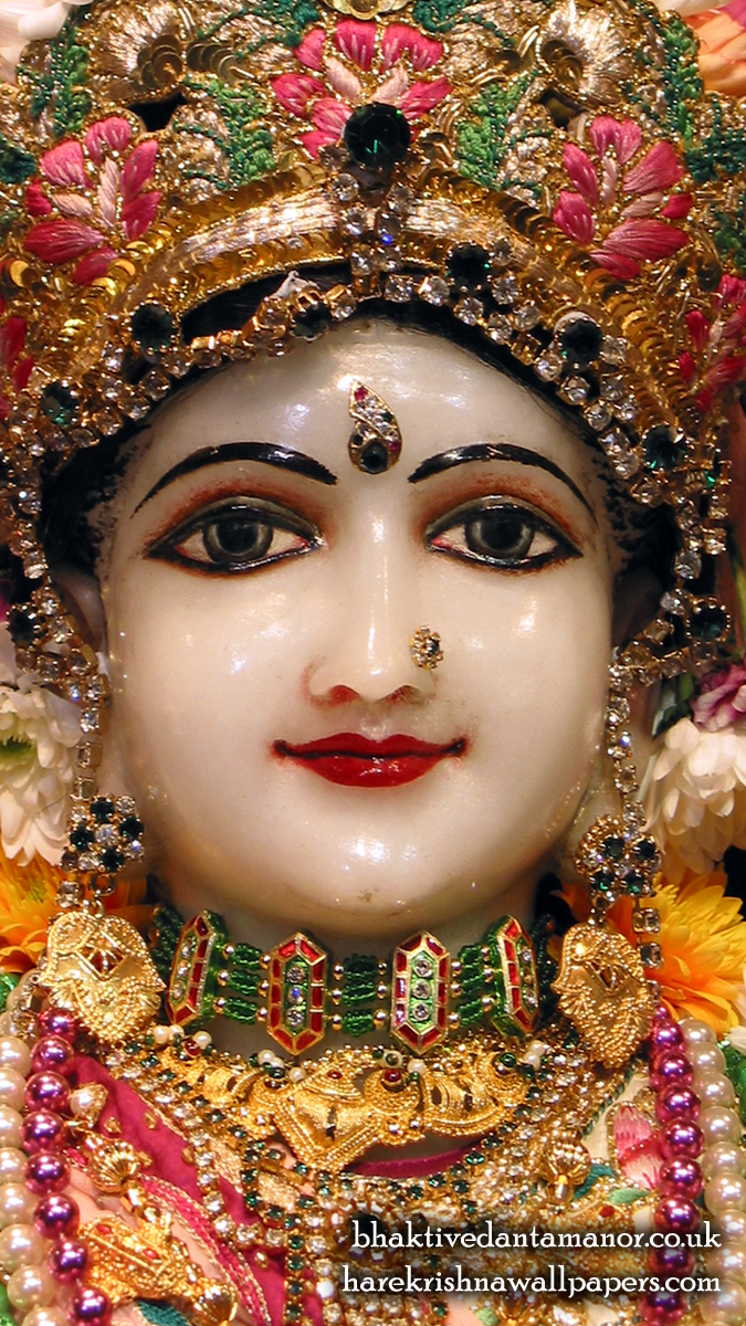 Sri Radha Close up Wallpaper (014) Size 675x1200 Download