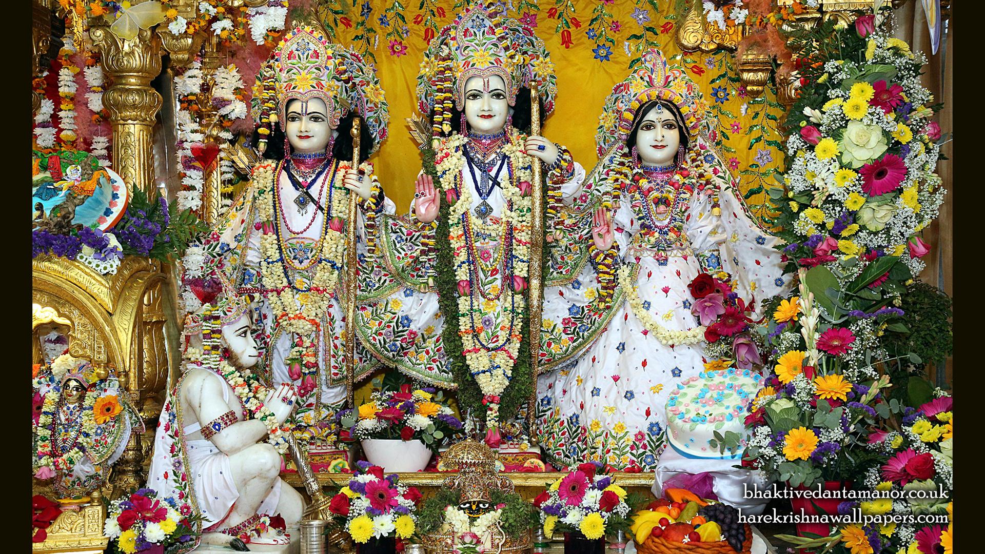 Sri Sri Sita Rama Laxman Hanuman Wallpaper (014) Size 1920x1080 Download