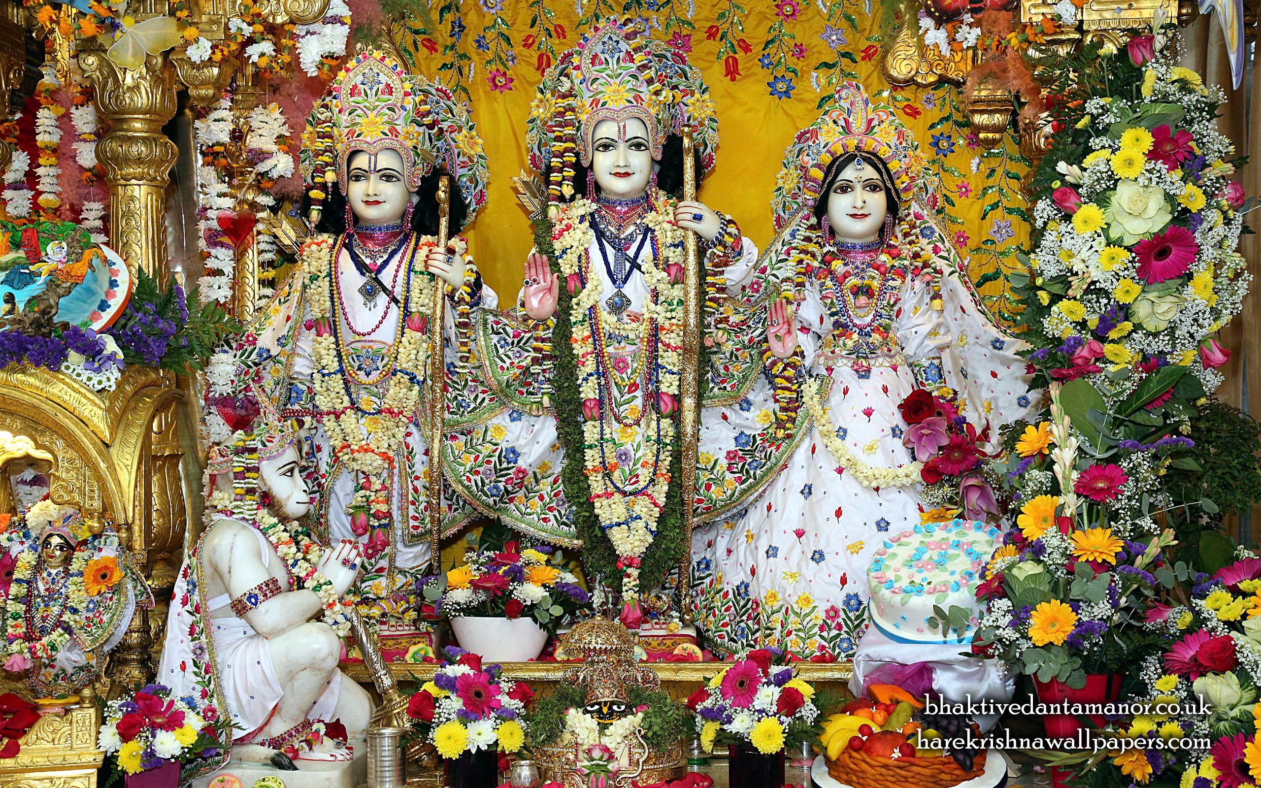 Sri Sri Sita Rama Laxman Hanuman Wallpaper (014) Size 2560x1600 Download