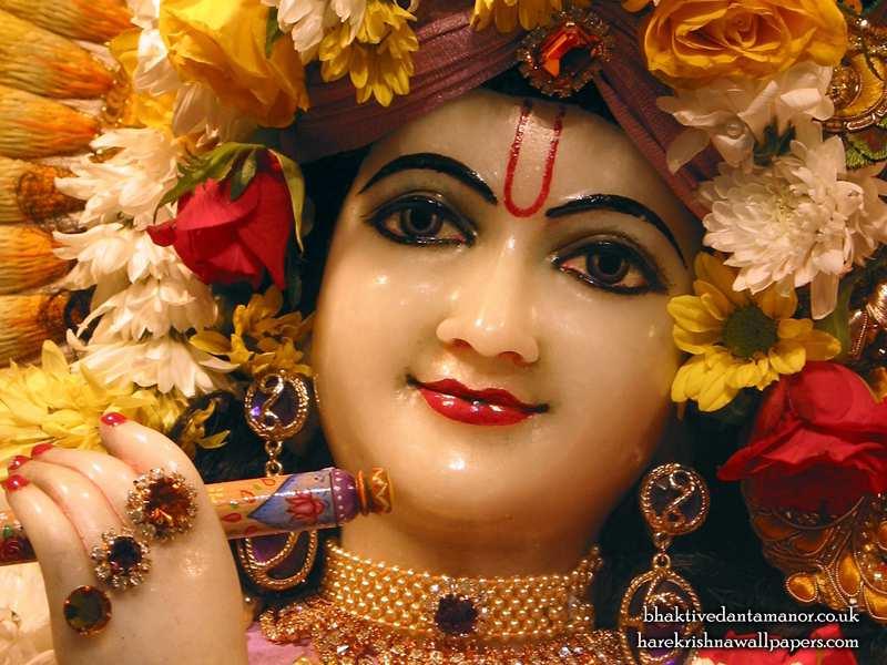 Sri Gokulananda Close up Wallpaper (015)