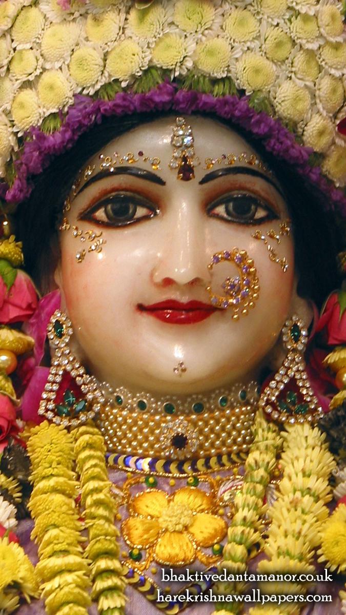 Sri Radha Close up Wallpaper (020) Size 675x1200 Download