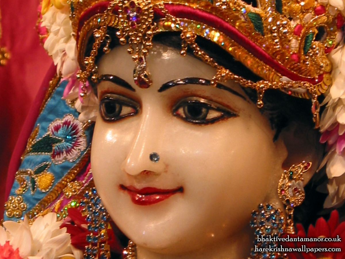 Sri Radha Close up Wallpaper (022) Size 1200x900 Download