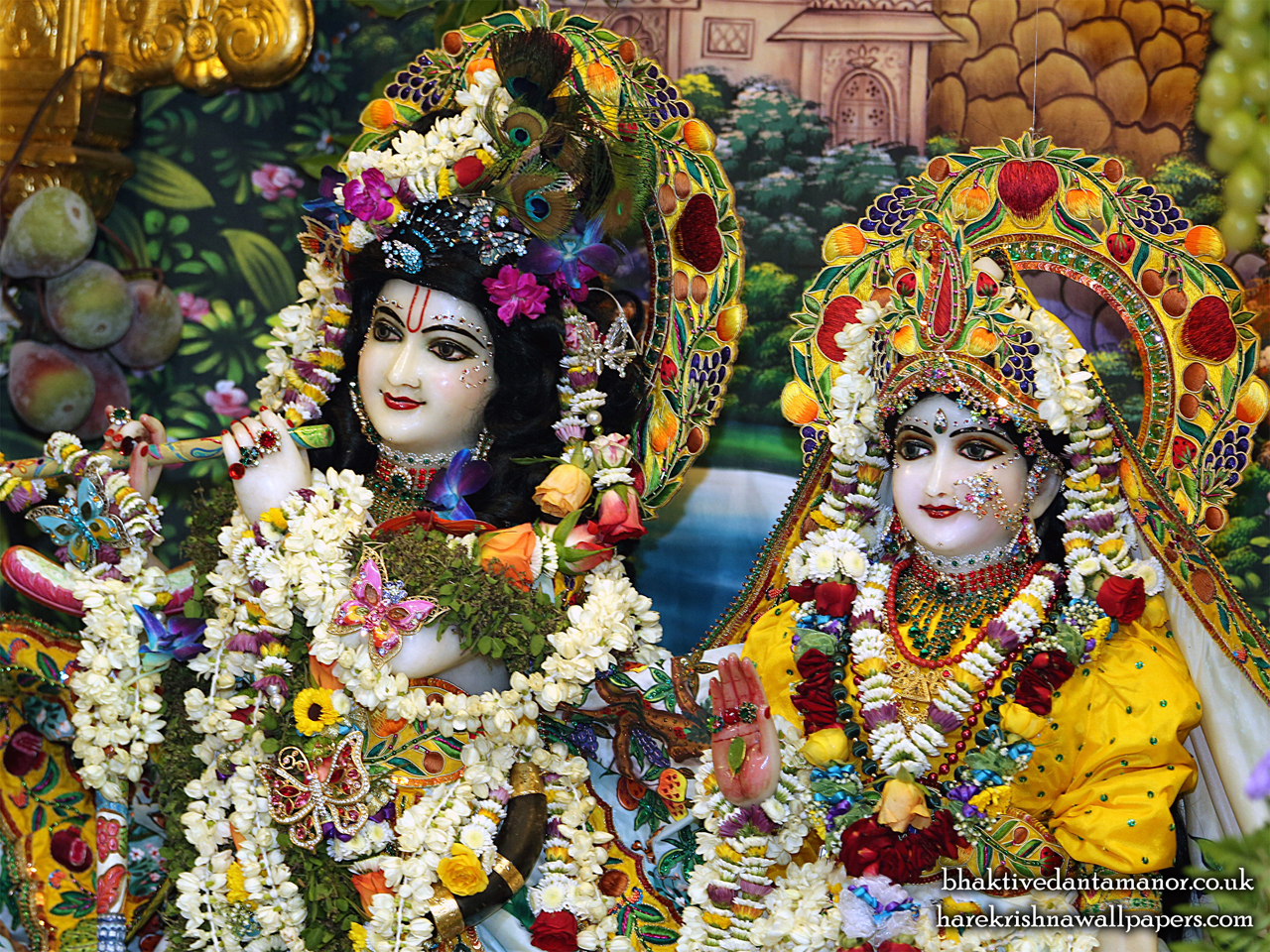 Sri Sri Radha Gokulanand Close up Wallpaper (023) Size 1280x960 Download
