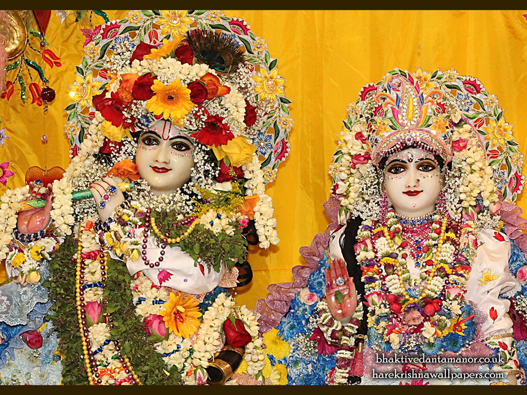 Sri Sri Radha Gokulananda Close up Wallpaper (024) Size 1024x768 Download
