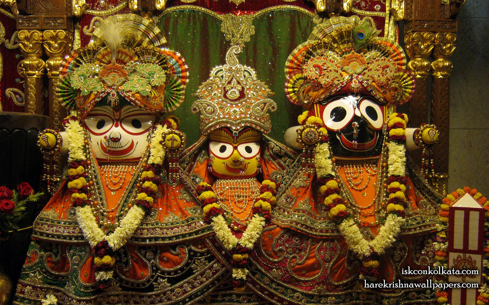 Jagannath Baladeva Subhadra Wallpaper (001) Size 1680x1050 Download