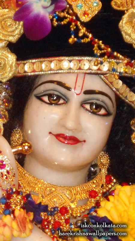Sri Govinda Close up Wallpaper (001) Size 450x800 Download