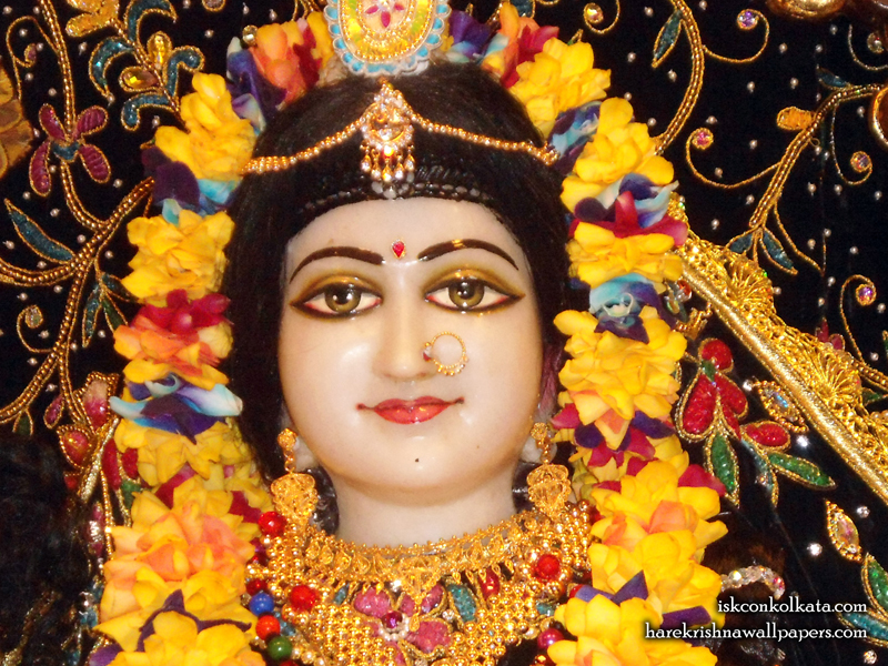 Sri Radha Close up Wallpaper (001) Size 800x600 Download