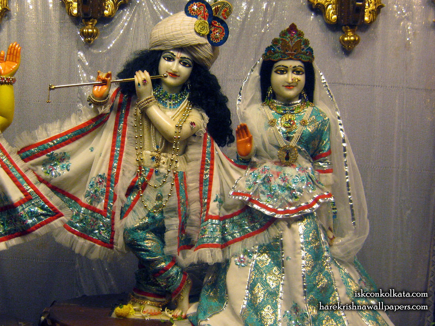 Sri Sri Radha Govinda Wallpaper (001) Size 1400x1050 Download