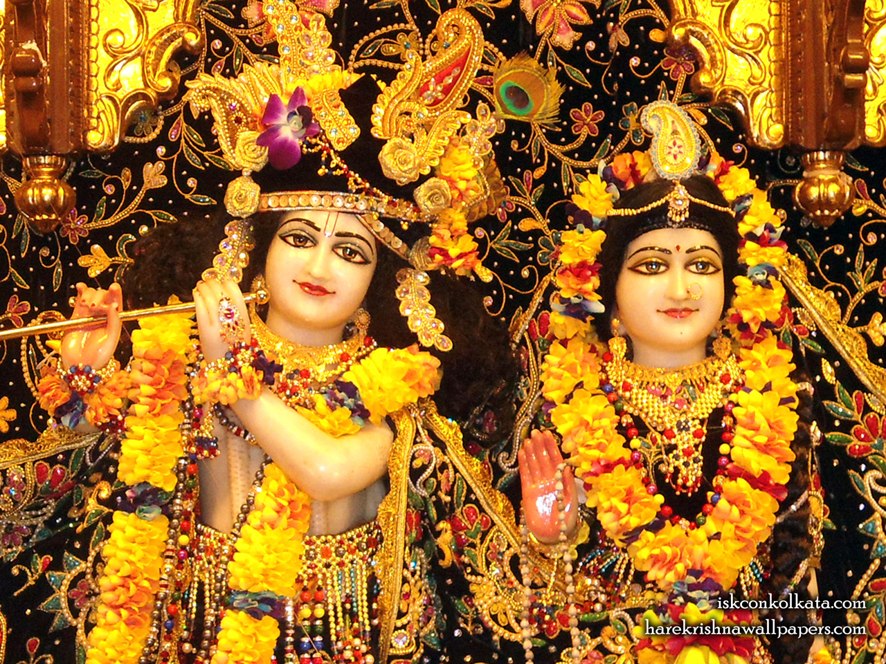 Sri Sri Radha Govinda Close up Wallpaper (001) Size 1280x960 Download