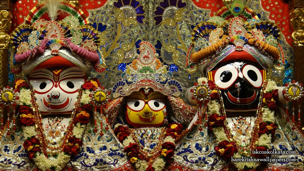 Jagannath Baladeva Subhadra Wallpaper (002) Size 1280x720 Download