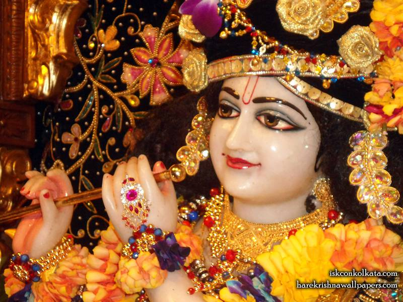 Sri Govinda Close up Wallpaper, Hare Krishna Wallpapers.