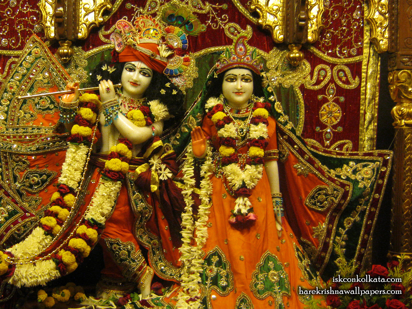 Sri Sri Radha Govinda Wallpaper (002) Size 1400x1050 Download