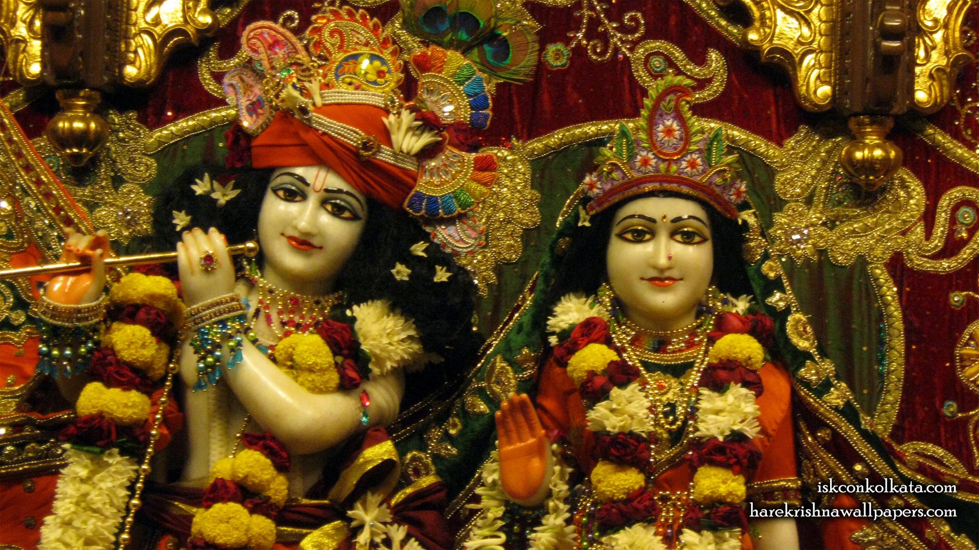 Sri Sri Radha Govinda Close up Wallpaper (002) Size 1920x1080 Download